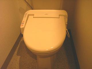 トイレもばっちりシャワートイレ◎